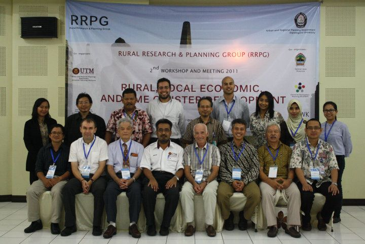 2nd RRPG Workshop Participants. UNDIP Campus, Semarang, Indonesia. 19 September 2011