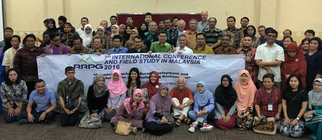 Participants of 7th RRPG International Conference. UTM Skudai, Johor Bahru, Malaysia