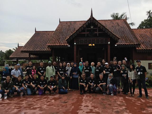 Field visit to Batu Pahat Region, Johor, Malaysia. 17 August 2016