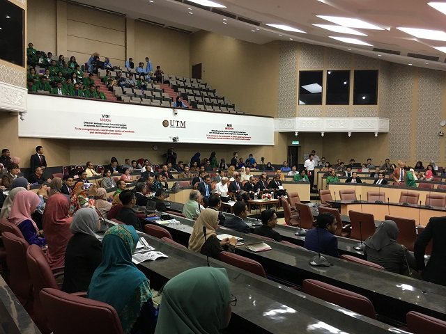 Openning Session of 7th RRPG International Conference. UTM Skudai-Malaysia, 15 August 2016